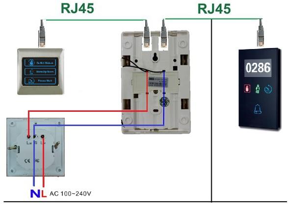 panele informacyjne dotykowe dnd mur exclusive schemat podłączenia wyłącznik prądu