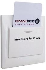 wyłącznik prądu na kartę